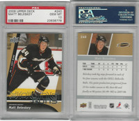 2009 Upper Deck Hockey, #240 Matt Beleskey, Ducks, PSA 10 Gem