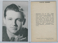 1950's Exhibit, Male Music Artists BIO Back, Floyd Cramer, ZQL