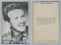 1950's Exhibit, Male Music Artists BIO Back, Marty Robbins, ZQL