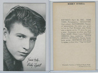 1950's Exhibit, Male Music Artists BIO Back, Bobby Rydell, ZQL