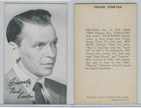 1950's Exhibit, Male Music Artists BIO Back, Frank Sinatra (B), ZQL