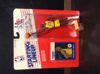 1988 Starting Lineup Basketball, Kareem Abdul-Jabbar HOF, Lakers, 88510