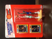 1989 Starting Lineup Basketball, One on One, Kevin McHale, Patrick Ewing, 97580
