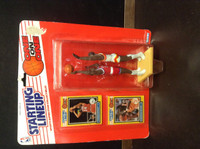 1989 Starting Lineup Basketball, One on One, Charles Barkley, Wilkins, 97590