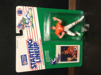 1988 Starting Lineup Football, John Elway HOF, Broncos, 88450