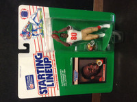 1989 Starting Lineup Football, Jerry Rice HOF, 49ers, 95600