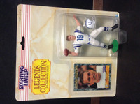1989 Starting Lineup Football, Legends, Johnny Unitas HOF, Colts, 97760
