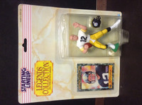 1989 Starting Lineup Football, Legends, Terry Bradshaw HOF, Steelers, 97990