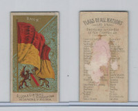 N10 Allen & Ginter, Flags of all Nations, 1890, Baden