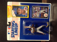 1990 Starting Lineup Baseball, Darryl Strawberry, Mets, 77582