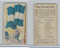 E16 Dockman & Son, Flag Chewing Gum, 1920's, Argentine Republic