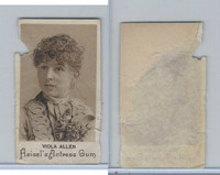E180 Heisels, Actress Gum, 1890's, Viola Allen (skinned)