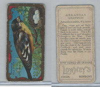 E226 Lowneys Chocolates, Bird Series, 1920's, Arkansas Gold Finch