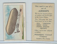 E40 Philadelphia Caramel, Airships, 1911, Baldwin - Dirigible