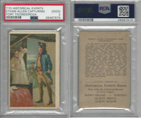 T70 ATC, Historical Events, 1910, Ethan Allen Ticonderoga, PSA 2 Good