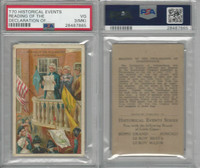 T70 ATC, Historical Events, 1910, Reading of Declaration of Indep., PSA 3 MK VG