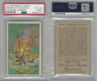 T70 ATC, Historical Events, 1910, Sinking of the Maine, Havana Cuba, PSA 4 MK