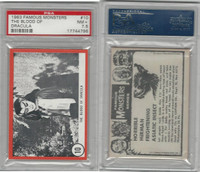 1963 Rosan W528-5, Famous Monsters, #10 The Blood of Dracula, PSA 7.5 NM+