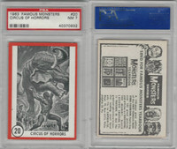 1963 Rosan W528-5, Famous Monsters, #20 Circus of Horrors, PSA 7 NM