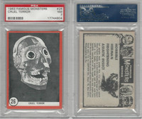 1963 Rosan W528-5, Famous Monsters, #26 Cruel Terror, PSA 7 NM