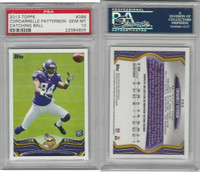 2013 Topps Football, #386 Cordarrelle Patterson RC, Vikings, PSA 10 Gem