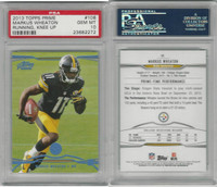 2013 Topps Prime Football, #106 Markus Wheaton, Steelers, PSA 10 Gem