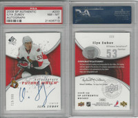 2008 Upper Deck SP Hockey, #233 Ilya Zubov AUTO, Senators, PSA 8 NMMT
