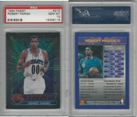 1994 Topps Finest Basketball, #216 Robert Parish, Hornets, PSA 10 Gem