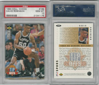 1994 Upper Deck CC Basketball, #189 David Robinson, Spurs, PSA 10 Gem