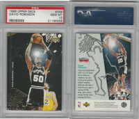 1995 Upper Deck Basketball, #349 David Robinson, Spurs, PSA 10 Gem