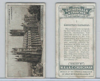 C82-37 Churchman, Cathedrals & Churches, 1924, #1 Canterbury