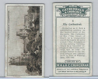 C82-37 Churchman, Cathedrals & Churches, 1924, #4 Ely