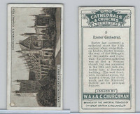 C82-37 Churchman, Cathedrals & Churches, 1924, #5 Exeter