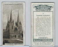 C82-37 Churchman, Cathedrals & Churches, 1924, #8 Lichfield