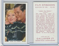 G12-84 Gallaher, Film Episodes, 1936, #28 Goin' To Town, Mae West, Withers