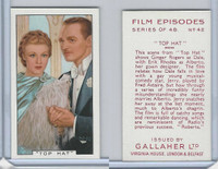 G12-84 Gallaher, Film Episodes, 1936, #42 Top Hat, Ginger Rogers, E Rhodes