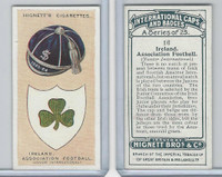 H44-35 Hignett, International Caps & Badges, 1924, #16 Ireland Ass. Football