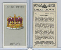 P50-103 Phillips, Famous Crowns, 1938 Royalty, #20 Scotland