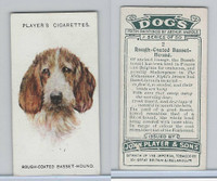 P72-90 Player Tobacco, Dogs, 1929, #2 Rough Coated Basset Hound