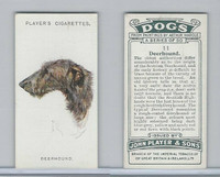 P72-90 Player Tobacco, Dogs, 1929, #11 Deerhound