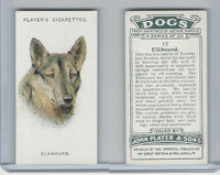 P72-90 Player Tobacco, Dogs, 1929, #12 Elkhound