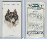 P72-90 Player Tobacco, Dogs, 1929, #13 Eskimo