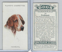 P72-90 Player Tobacco, Dogs, 1929, #14 Foxhound