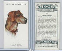 P72-90 Player Tobacco, Dogs, 1929, #15 Great Dane