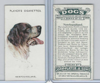 P72-90 Player Tobacco, Dogs, 1929, #18 Newfoundland