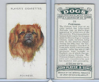 P72-90 Player Tobacco, Dogs, 1929, #20 Pekinese