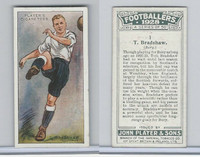 P72-100 Player, Footballers 1928, #1 Tom Bradshaw