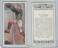 P72-100 Player, Footballers 1928, #3 W. Coggins, Bristol City