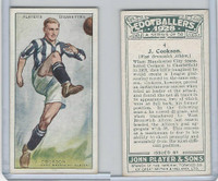 P72-100 Player, Footballers 1928, #4 J. Cookson, West Bromwich
