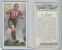 P72-100 Player, Footballers 1928, #10 W. Dinsdale, Lincoln City